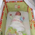 Jules dans son lit