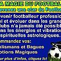 Les meilleurs articles spirituels astrologiques pour footballeurs