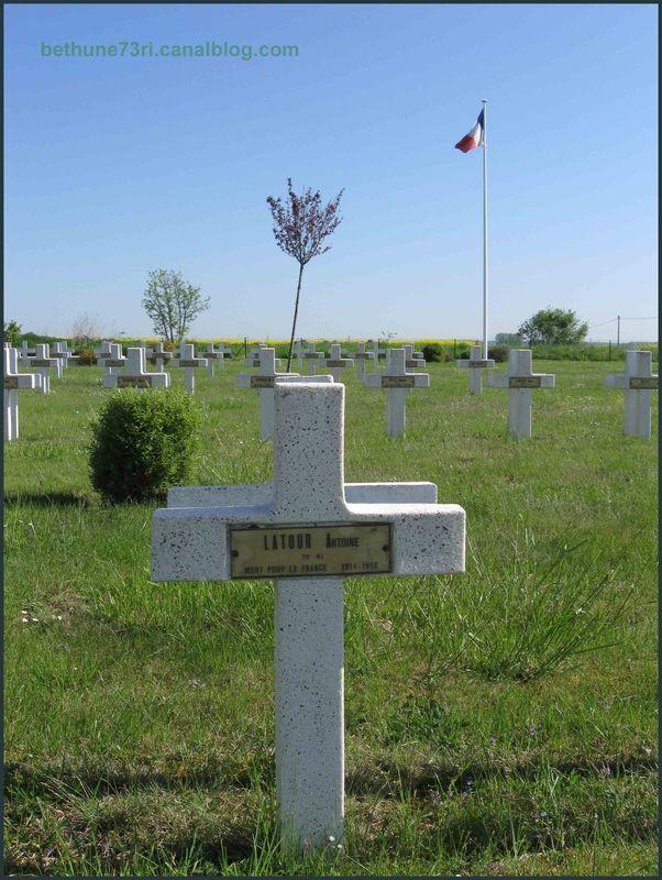 Tombe d'Antoine LATOUR