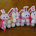 Les fêtes de pâques se préparent petit à petit
