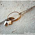 Bracelet 'jasmin'