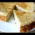 Gâteau de chou-fleur aux fromages