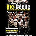 gala de STE CECILE par l'orchestre d' harmonie de <b>grande</b> <b>synthe</b>