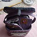 Trousse à couture Pois de senteur (12)