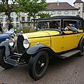 BUGATTI type 40 faux cabriolet par Gangloff 1927 Molsheim (1)
