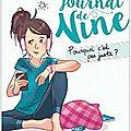 Le journal de nine - tome 3 : pourquoi c'est pas juste - géraldine maillet