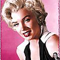 Marilyn colorisée 2017 2