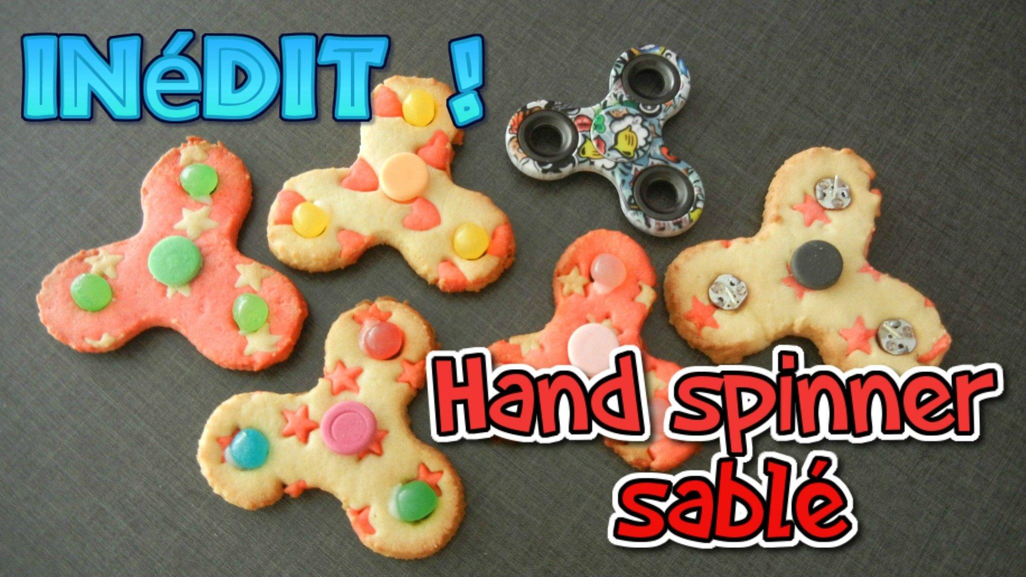 ♡•Hand Spinner en sablé comestible | RECETTE INÉDITE •♡
