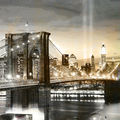 01A. Le Pont de Brooklyn 2, miel et acier