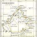 Borneo britannique - carte