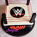 Ring de catch WWE - WWE <b>cake</b>