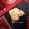 Rillette de crabe ou recette inavouable tellement elle est simple