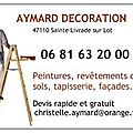 lionel aymard decoration