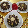 Chocolat fourré au fromage et chocolat blanc