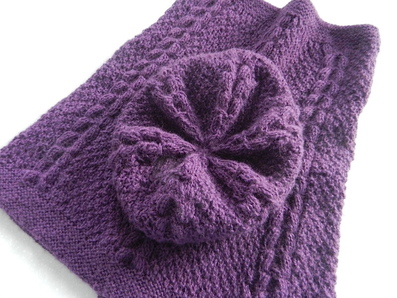 Furrow Bonnet et Snood 1