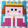 Princess pixel <b>plaid</b>.