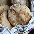 Pain pita ou pain libanais