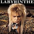 Labyrinthe de Jim Henson avec David Bowie, <b>Jennifer</b> <b>Connelly</b>