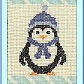 Échange ATC (Pingouins) Chez Véro Marie Christine pour Marie de Clessé 1