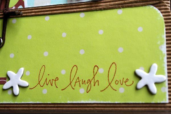 mini album live laugh love 004