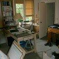 1er étage - chambre/atelier