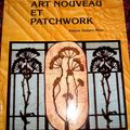 art déco , patch