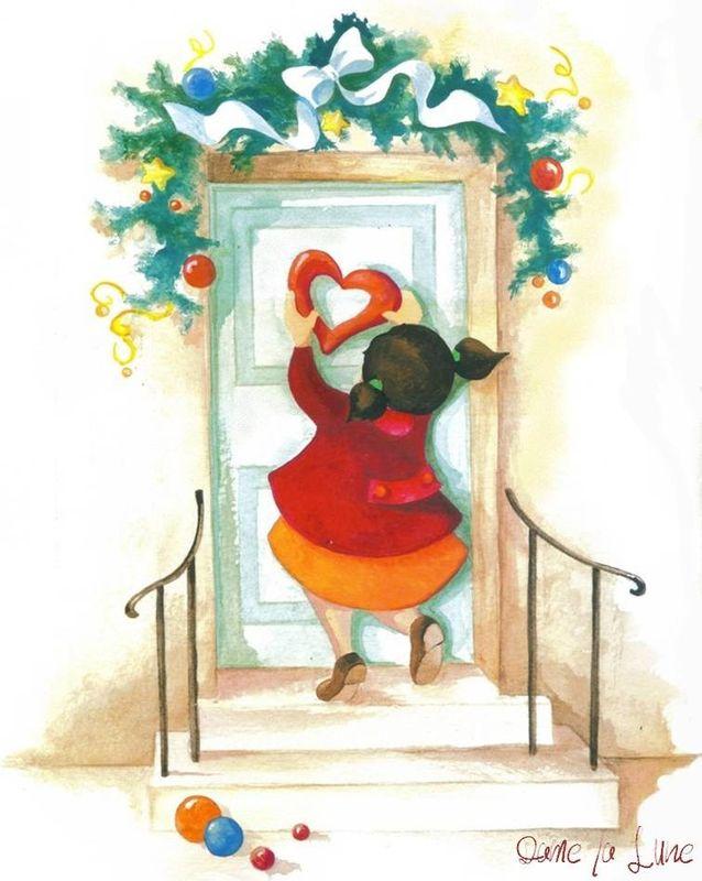l- les préparatifs de Noël!