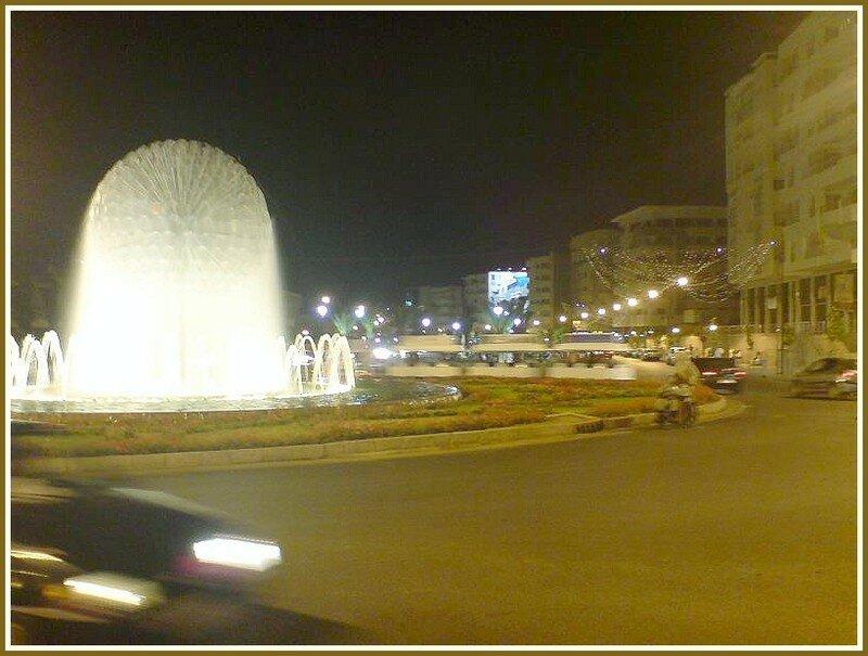 Fés Centre Ville la nuit