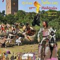 Les médiévales de montaner, c'est ce week-end !