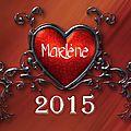 Les coups de ♥ 2015 #Marlène