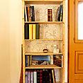 Relooking de bibliothèque / Bookshelf makeover