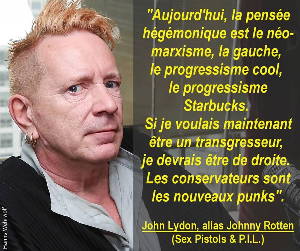 Johnny Rotten rejoint les NA