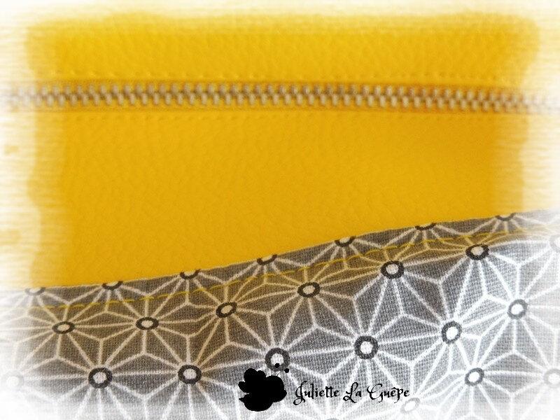 Java small jaune et gris origami5