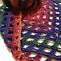 Sophia shawl et nouveautés