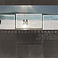 Patinage sur le lac de remoray