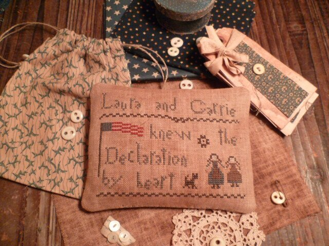 Laura and Carrie knew the Declaration by Heart US$ 8.00