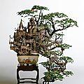 Paysagisme miniature : le <b>bonsaï</b>.