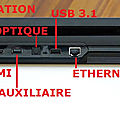 Playstation 4 Pro Connectique
