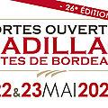 <b>Portes</b> <b>ouvertes</b> en Cadillac Côtes de Bordeaux