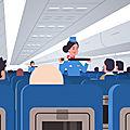 Les mesures de sécurité en avion