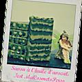 Test macosmetoperso- savon à l'huile d'avocat bio (saponification à froid )