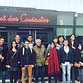 Rencontre avec les élèves des Ateliers du Cinéma <b>Claude</b> <b>Lelouch</b> à Beaune
