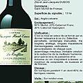 La fête des vins continue avec le château cassagne haut-canon ...