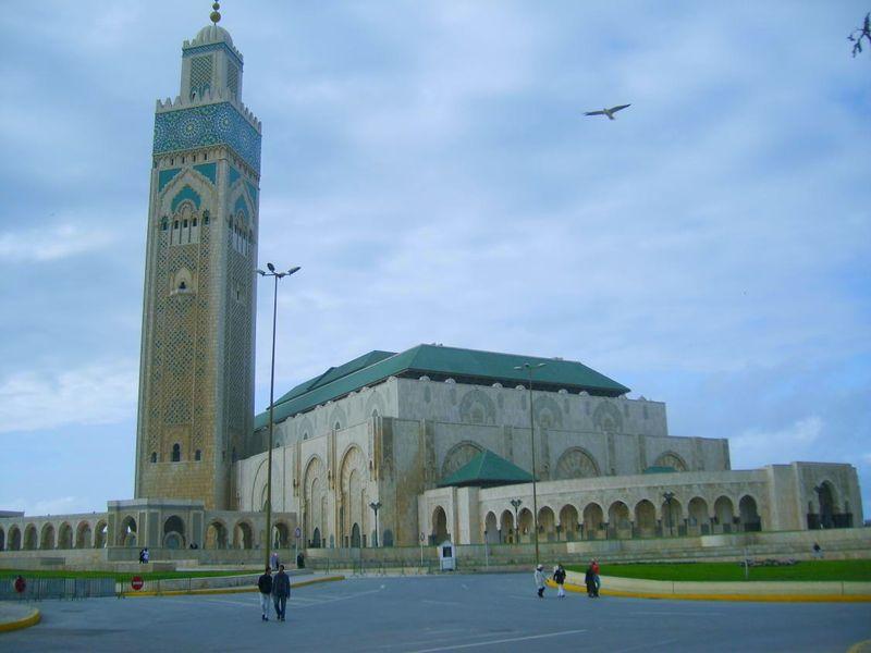 Mosquée Hassan II Casablanca Novembre 2007