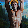 SAINT SEBASTIEN (Art Contemporain)