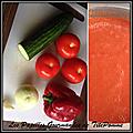 Gaspacho de tomates de ma copine manon