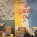 Book Club PKJ autour de Carry On de <b>Rainbow</b> <b>Rowell</b>