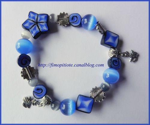 pate fimo bijoux polymere collier bracelet boucle d oreille artisanat (13)
