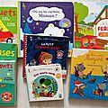 Des livres sonores pour les tout-petits