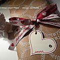 Back to pocket letter, thème st valentin